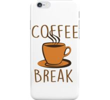 Coffee Break iPhone Case/Skin
