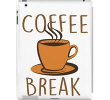 Coffee Break iPad Case/Skin