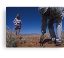 Exploring the Namib Desert with expert guides Canvas Print