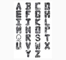 A-Z Alphabet Baby Tee