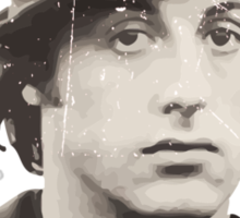 Rocky Balboa portrait [Distressed] Sticker