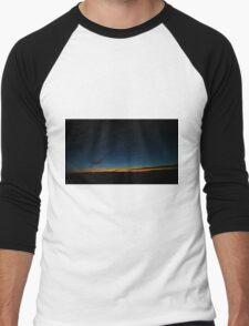 Arizona Night sky and Sunset Men's Baseball ¾ T-Shirt