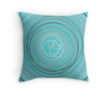 Abstract Nest Throw Pillow