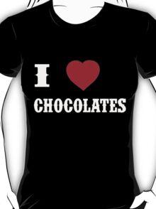 I Love Chocolates - T-shirts & Hoodies T-Shirt
