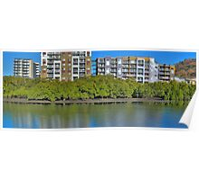 Apartments on the creek,HDR Poster