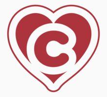 Heart C letter Kids Tee