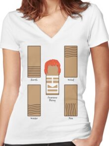 The Fifth Stone Women's Fitted V-Neck T-Shirt