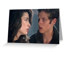 Scallison [Dead Can't Tear Us Apart] Greeting Card