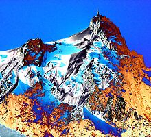 Psychedelic  Alps by Peter Schneiter