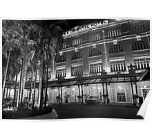Eastern & Oriental Hotel Penang Malaysia  BW Poster