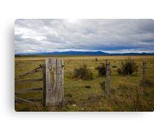 Distant Mountains Canvas Print