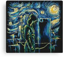 Arrow/ The Starry Night - Vincent Van Gogh Canvas Print