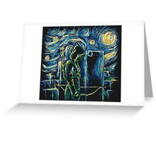 Arrow/ The Starry Night - Vincent Van Gogh Greeting Card