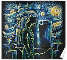 Arrow/ The Starry Night - Vincent Van Gogh Poster
