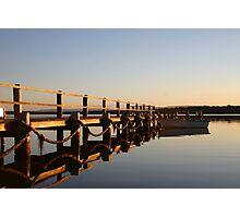 A peaceful basin sunset Photographic Print