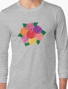 Rose Bunch  Long Sleeve T-Shirt