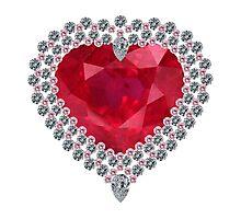 Heart of Love Photographic Print