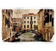 Forgotten Postcard - Venice, Italy Poster
