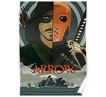 Arrow Arrow Vs. Deathstroke Poster