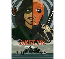 Arrow Arrow Vs. Deathstroke Photographic Print