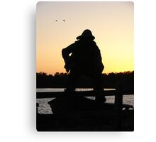 The old sailor Canvas Print