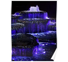 Blue Fountain 2 Poster
