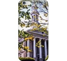 Court House, Easton iPhone Case/Skin