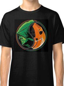 Arrow Deathstroke Yin Yang Classic T-Shirt