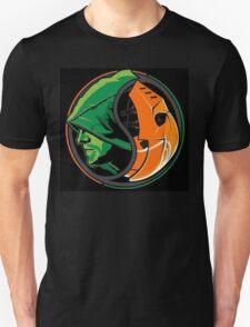 Arrow Deathstroke Yin Yang T-Shirt