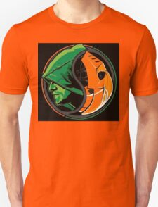 Arrow Deathstroke Yin Yang Unisex T-Shirt