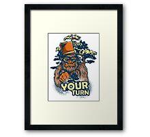 Your Turn Framed Print