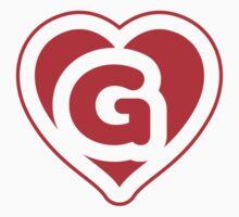 Heart G letter Kids Clothes