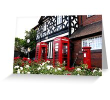 July in England Greeting Card