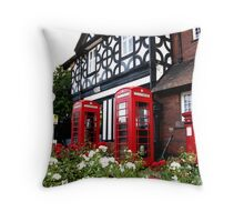 July in England Throw Pillow