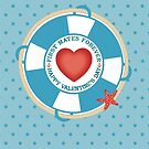 first mates forever nautical love Valentines Day by BigMRanch