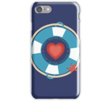 first mates forever nautical love Valentines Day iPhone Case/Skin