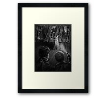 Whatever You Do John, Don't Blink Framed Print