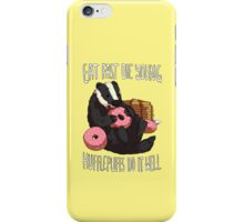 Hufflepuffs Do It Well iPhone Case/Skin