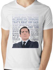 World's Best Boss Mens V-Neck T-Shirt