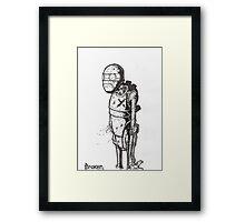 Broken Robot #1  Framed Print