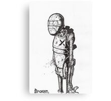 Broken Robot #1  Canvas Print