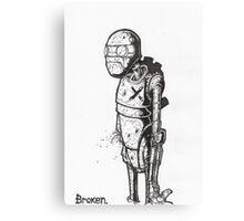Broken Robot #1  Canvas Print
