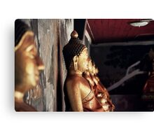Buddha Wall Canvas Print