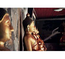 Buddha Wall Photographic Print