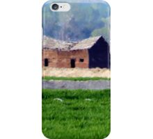 Outside Roswell, Idaho...drive by iPhone Case/Skin