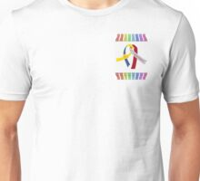 More Choices & Down Syndrome Ribbons Unisex T-Shirt