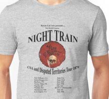Bayou Vermillion Night Train Tour Design Unisex T-Shirt