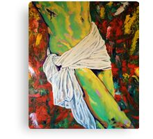 Jesus Christ & the Holy Grail Canvas Print