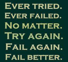 Ever tried.... by ParkLeeya