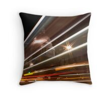 St Pauls Light Trail Throw Pillow